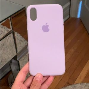 Accessories - iPhone XS silicone phone case